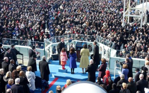 Obama's first term inauguration