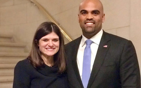 Congresswoman Haley Stevens and Congressman Colin Allred, elected co-presidents of the historic freshman class of the 116th Congress